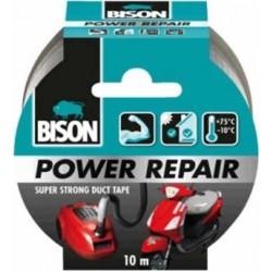 Ισχυρή υφασμάτινη ταινία συγκόλλησης Bison Power Repair 26196