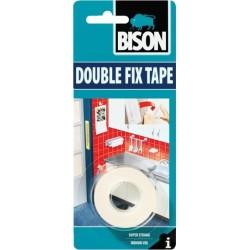 Bison Ταινία Διπλής Όψης Double Fix 19mm x 1.5m 66393