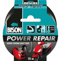 Ισχυρή υφασμάτινη ταινία συγκόλλησης Bison Power Repair 26204
