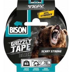 Ισχυρή υφασμάτινη ταινία συγκόλλησης Bison Grizzlly Tape  Μαύρη  27958
