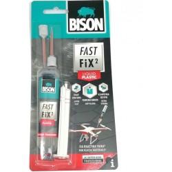 Κόλλα Bison FAST FIX² LIQUID PLASTIC 10gr 27534
