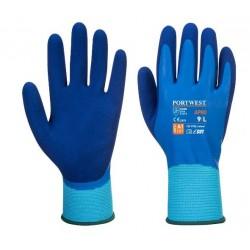 Γάντια  latex Liquid Pro  PORTWEST AP80  μπλε ανοιχτό