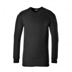 Θερμική μπλούζα με μακριά μανίκια Portwest B123 ΜΑΥΡΟ