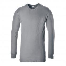Θερμική μπλούζα με μακριά μανίκια Portwest B123 ΓΚΡΙ