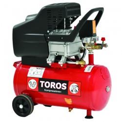Αεροσυμπιεστής Μονομπλόκ TOROS TM 24/2.5 (2.5HP) - 40137