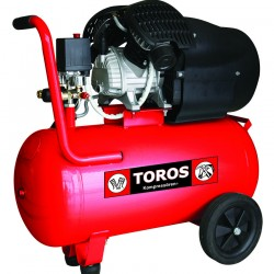 Αεροσυμπιεστής Μονομπλόκ TOROS TM 100/3 (3.0HP) - 40139