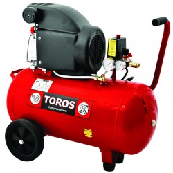 Αεροσυμπιεστής Μονομπλόκ TOROS EM 50/2 (2.0HP) - 40140