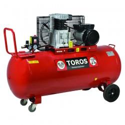 Αεροσυμπιεστής Μονοφασικός 150Lt. - 3Hp TOROS DH-30150/10 (602039)