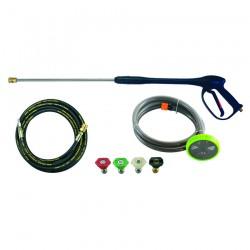 Πλυστικό βενζινοκίνητο μηχάνημα υψηλής πίεσης 207cc - 250 bar BULLE (605205)