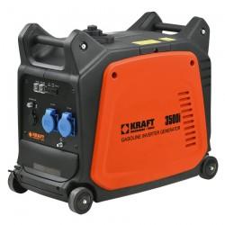 Ηλεκτρογεννήτρια βενζίνης INVERTER κλειστού τύπου, χαμηλού θορύβου 2.800W KRAFT 3500i (63767)