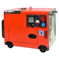 Ηλεκτρογεννήτρια Πετρελαίου Τριφασική με Μίζα, Μπαταρία & Μεταγωγικό Πίνακα 6.000W KRAFT WS 8500L-3 (63772)