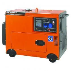 Ηλεκτρογεννήτρια Πετρελαίου Μονοφασική με Μίζα, Μπαταρία & Μεταγωγικό Πίνακα 6.500W KRAFT WS 8500L-1 (63776)