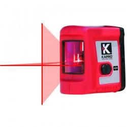 Αλφάδι Λέιζερ Σταυρού δύο ακτινών Kόκκινης Δέσμης (οριζόντια & κάθετη) 20m - 90° Εσωτερικού χώρου KAPRO 862 633110