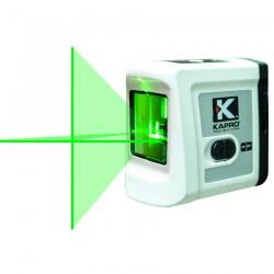 Αλφάδι Λέιζερ Σταυρού δύο ακτινών Πράσινης Δέσμης (οριζόντια & κάθετη) 20m - 90° Εσωτερικού χώρου KAPRO 862G 633111