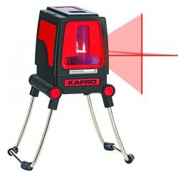 Αλφάδι Λέιζερ Σταυρού δύο ακτινών Kόκκινης Δέσμης (οριζόντια & κάθετη) 30m - 180° Εσωτερικού & Εξωτερικού χώρου KAPRO 872 633112