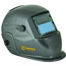 Μάσκα Ηλεκτροσυγκόλλησης Ηλεκτρονική Αυτόματη με 2 φωτοκύτταρα IMPERIA (carbon fiber painted) 65611