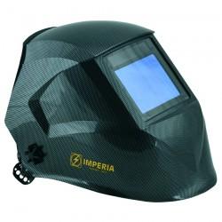 Μάσκα Ηλεκτροσυγκόλλησης Ηλεκτρονική Αυτόματη με 4 φωτοκύτταρα IMPERIA (carbon fiber painted) 65621