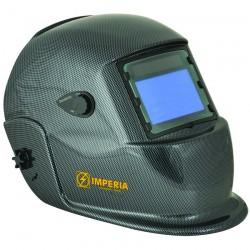Μάσκα Ηλεκτροσυγκόλλησης Ηλεκτρονική Αυτόματη με 4 φωτοκύτταρα IMPERIA (carbon fiber painted) 65625