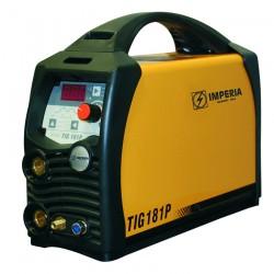 Ηλεκτροσυγκόλληση Inverter TIG & MMA 180A IMPERIA TIG 181P (65646)