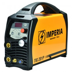 Ηλεκτροσυγκόλληση Inverter TIG & MMA 200A IMPERIA TIG 201P (65648)