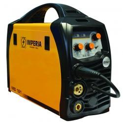 Ηλεκτροσυγκόληση Σύρματος & Ηλεκτροδίου INVERTER (MIG/MMA) IMPERIA MIG 161 (65651)