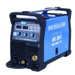 Inverter Σύρματος & Ηλεκτροδίου MIG & MMA 200A BULLE 657003