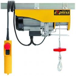 Παλάγκο ηλεκτρικό συρματοσχοίνου EXPRESS XP 200/400kg 12/6m (1.000W) 63022