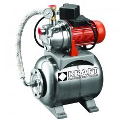 Πιεστικό Συγκρότημα με Δοχείο & Αντλία INOX 800W - 43531 Kraft