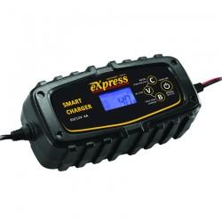 Αυτόματος Ηλεκτρονικός Φορτιστής - Συντηρητής Μπαταρίας 6V/12V 4A EXPRESS 60120