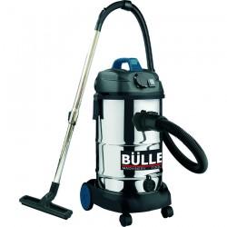 Ηλεκτρική Σκούπα Αναρρόφησης Υγρών & Στερεών Ερασιτεχνικής Χρήσης INOX για χρήση με ηλεκτρικά εργαλεία 1.600W BULLE (605263)