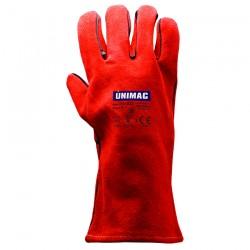 Γάντια Εργασίας Δερμάτινα (Μόσχου) Νο 10 UNIMAC 701032