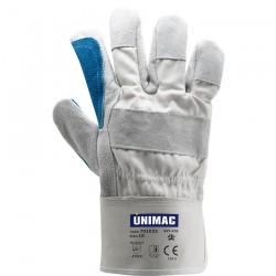 Γάντια Εργασίας Δερμάτινα (Μόσχου) Νο 10 UNIMAC 701033
