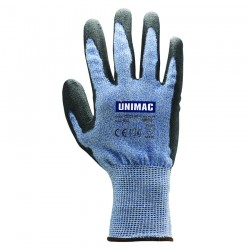 Γάντια Εργασίας Anti Cut με Υαλονήματα/Πολυουρεθάνη UNIMAC 702140