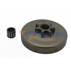 Καμπάνα DOLMAR PS 410-411 325-7 Δόντια DO157-J7Nsk