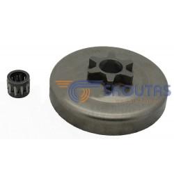 Καμπάνα DOLMAR 100-102-PS340-341-342-400 3/8LP-1.3-6 Δόντια DO157-R6Nsk