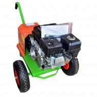 Καρότσι γεννήτριας με κινητήρα βενζίνης KRAFT 196cc - 6.5Hp - 500620