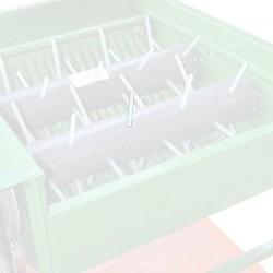 Ραβδάκι διάφανο περαστό Ø 10 1τεμ. για Ελαιοραβδιστικά Τραπέζια  - 0017