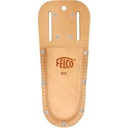 Θήκη απο γνήσιο δέρμα με υποδοχή για ζώνη και clip FELCO 910