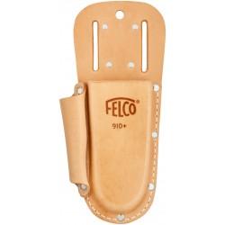 Θήκη απο γνήσιο δέρμα με υποδοχή για ζώνη και clip FELCO 910+