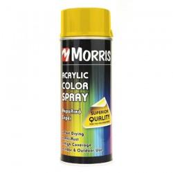 Σπρέi χρώματος Γυαλιστερό Κίτρινο Έντονο Morris  (RAL 1003) 400ml