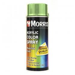 Ακρυλικό Σπρέι Morris RAL6018 GLOSS YELLOW GREEN 400 ml