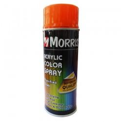 Σπρέi χρώματος ακρυλικό γυαλιστερό Ανοικτό Πορτοκαλί Morris  (RAL 2009) 400ml