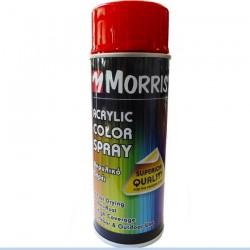 Σπρέi χρώματος ακρυλικό γυαλιστερό Morris Κόκκινο της Φωτιάς (RAL 3000) 400ml