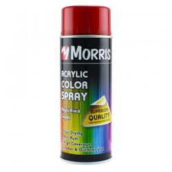 Σπρέi χρώματος ακρυλικό γυαλιστερό Morris Κόκκινο Καρμίνιο (RAL 3002) 400ml