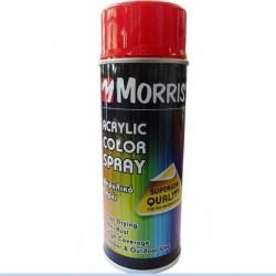 Σπρέi χρώματος ακρυλικό γυαλιστερό Morris Κόκκινο (RAL 3020) 400ml