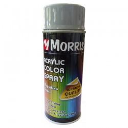 Σπρέi χρώματος ακρυλικό γυαλιστερό Ασημί Morris  (RAL 9006) 400ml